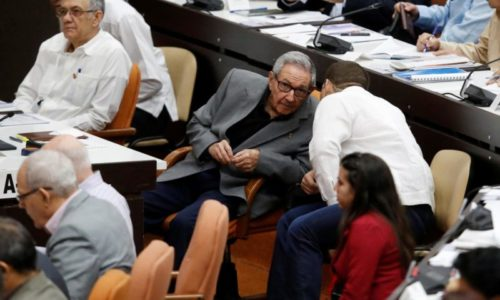 Kubanın keçmiş prezidenti Raul Kastro