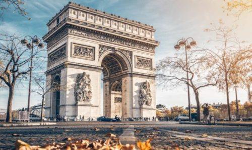 Paris - Triumfal Arka