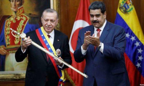 Rəcəb Tayip Ərdoğan Nikpla Maduro Türkiyə Venesuela Karakas