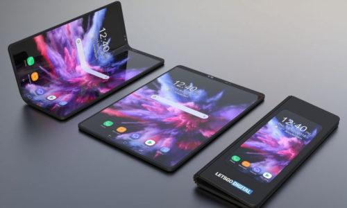 Samsung Galaxy F qatlanan smartfonu