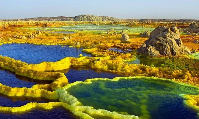 Danakil səhrası-Efiopiya