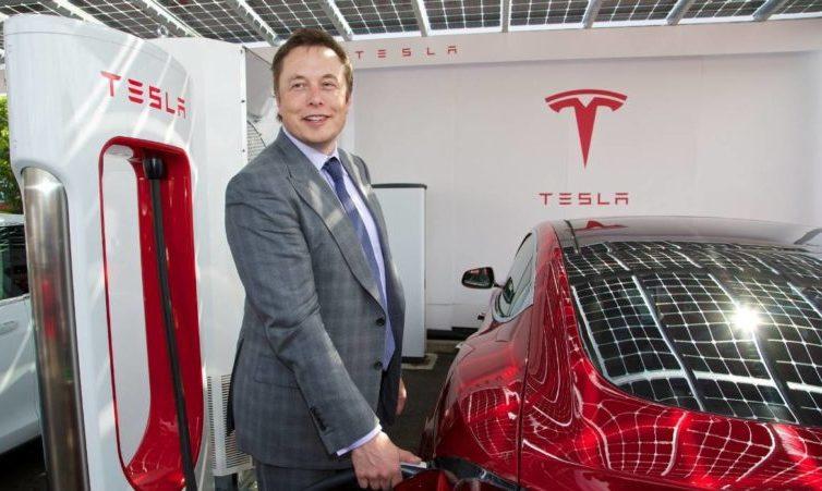 Elon Mask- Tesla şirkəti