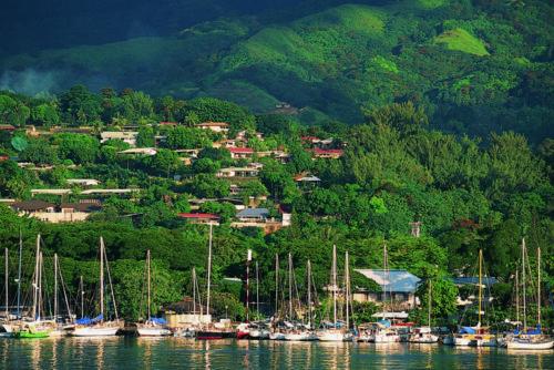 Adamstown - liman - Pitcairn adaları