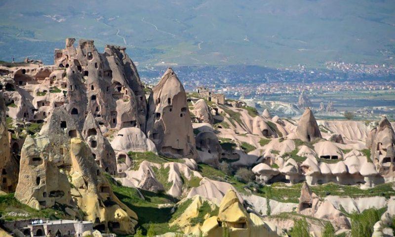Fairy Chimney Inn - Turkiye - Kapadokiya - otelin mənzərəsi