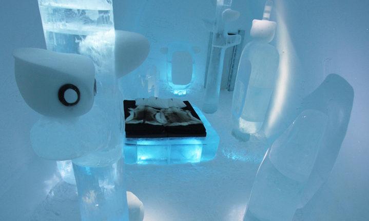 Ice Hotel Jukkasjarvi - İsveç - otel otağı