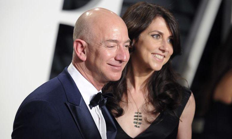 Jef ve Makkenzi Bezos