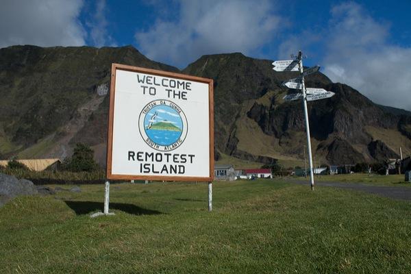 Tristan da Cunha - ən uzaq ada