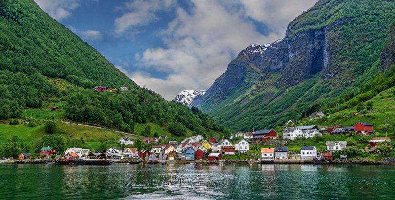 Undredal kəndi - Norveç