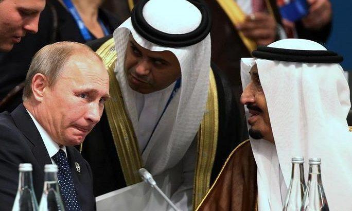 Vladimir Putin və Səudiyyə kralı Salman