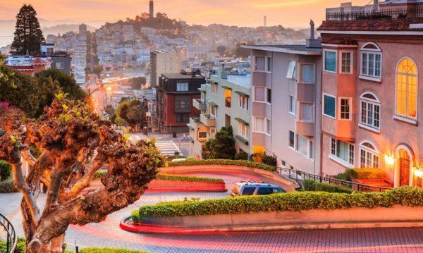 San-Fransisko şəhərindən görüntü
