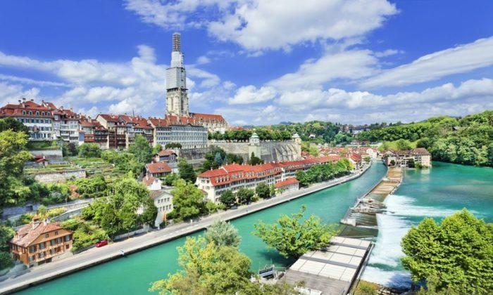 Bern şəhərindən görüntü