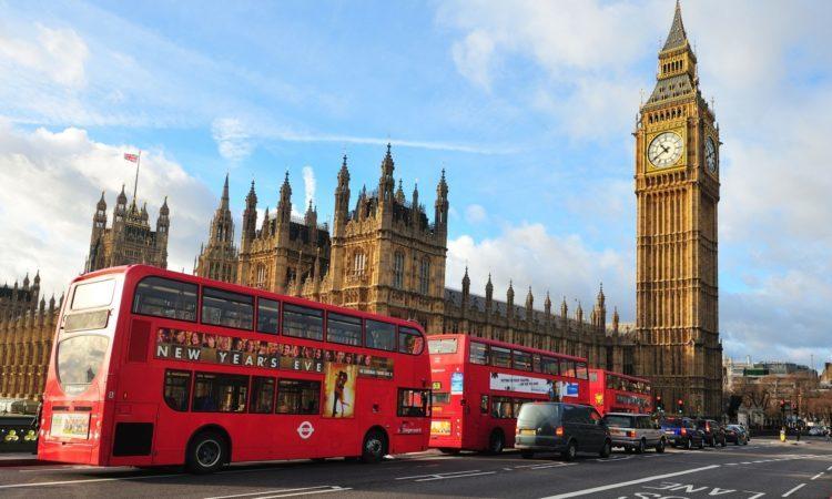London -şəhərdən görüntü