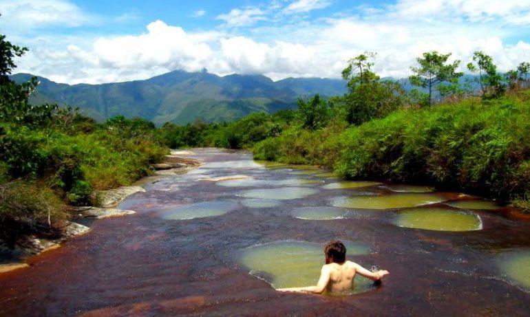 Göyqurşağı çayı -Kolumbiya