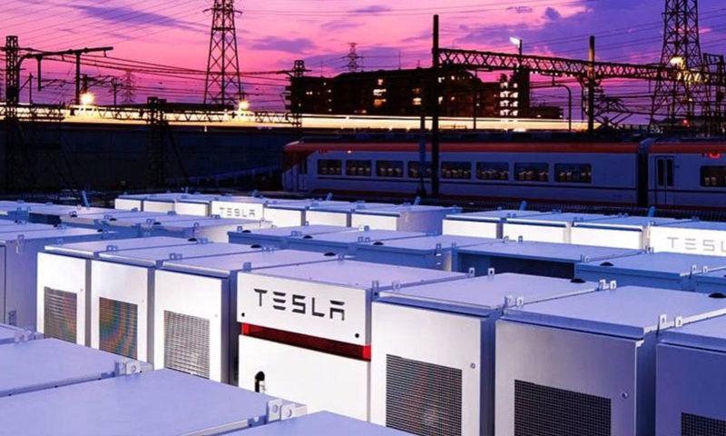 Tesla-Powerpack sistemi