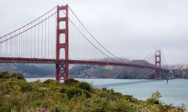 Golden-Gate körpüsündən görüntü