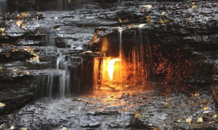 Eternal Flame Fall