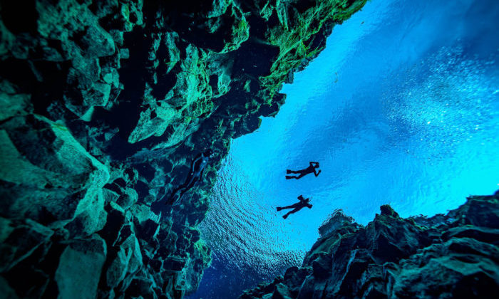 Silfra rift-İslandiya