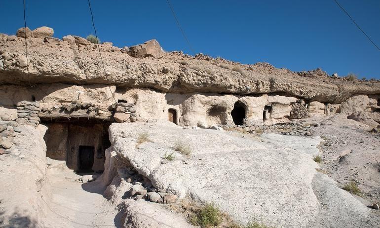 Maymand-mağara kəndi