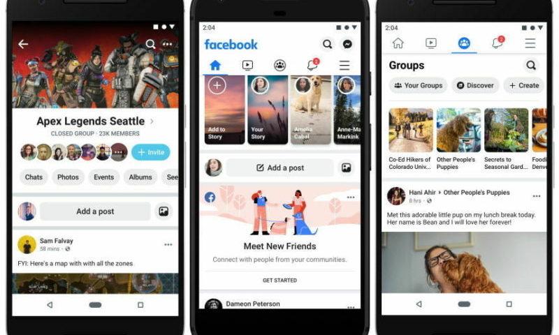 Facebook-un yeni dizaynı
