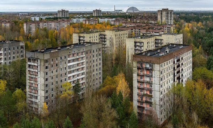 Pripyatdan bir görüntü