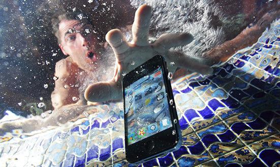 telefon suya düşərsə