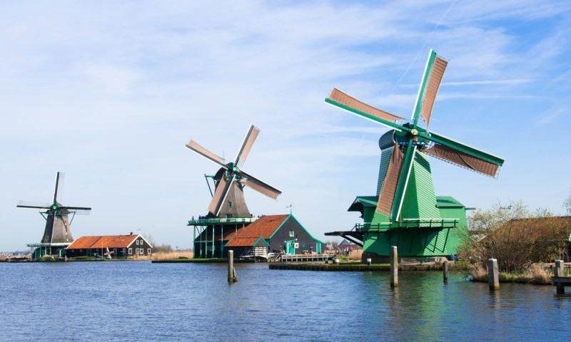 Hollandiya-külək dəyirmanı