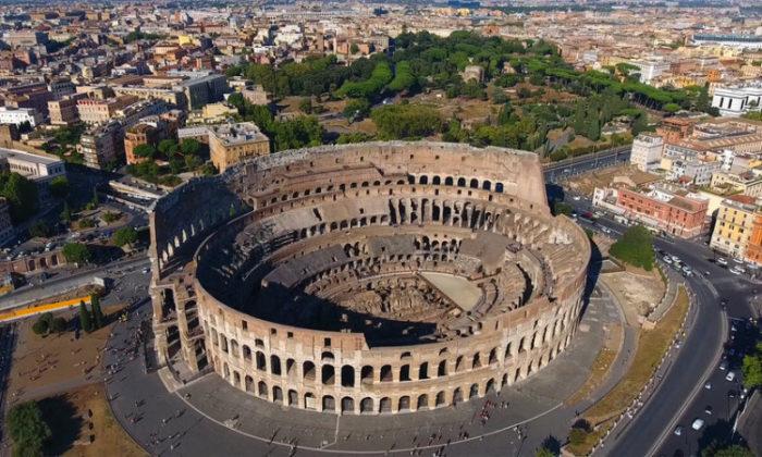 Colosseum-dan bir görüntü
